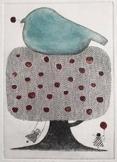 銅版画安心の鳥small.jpg